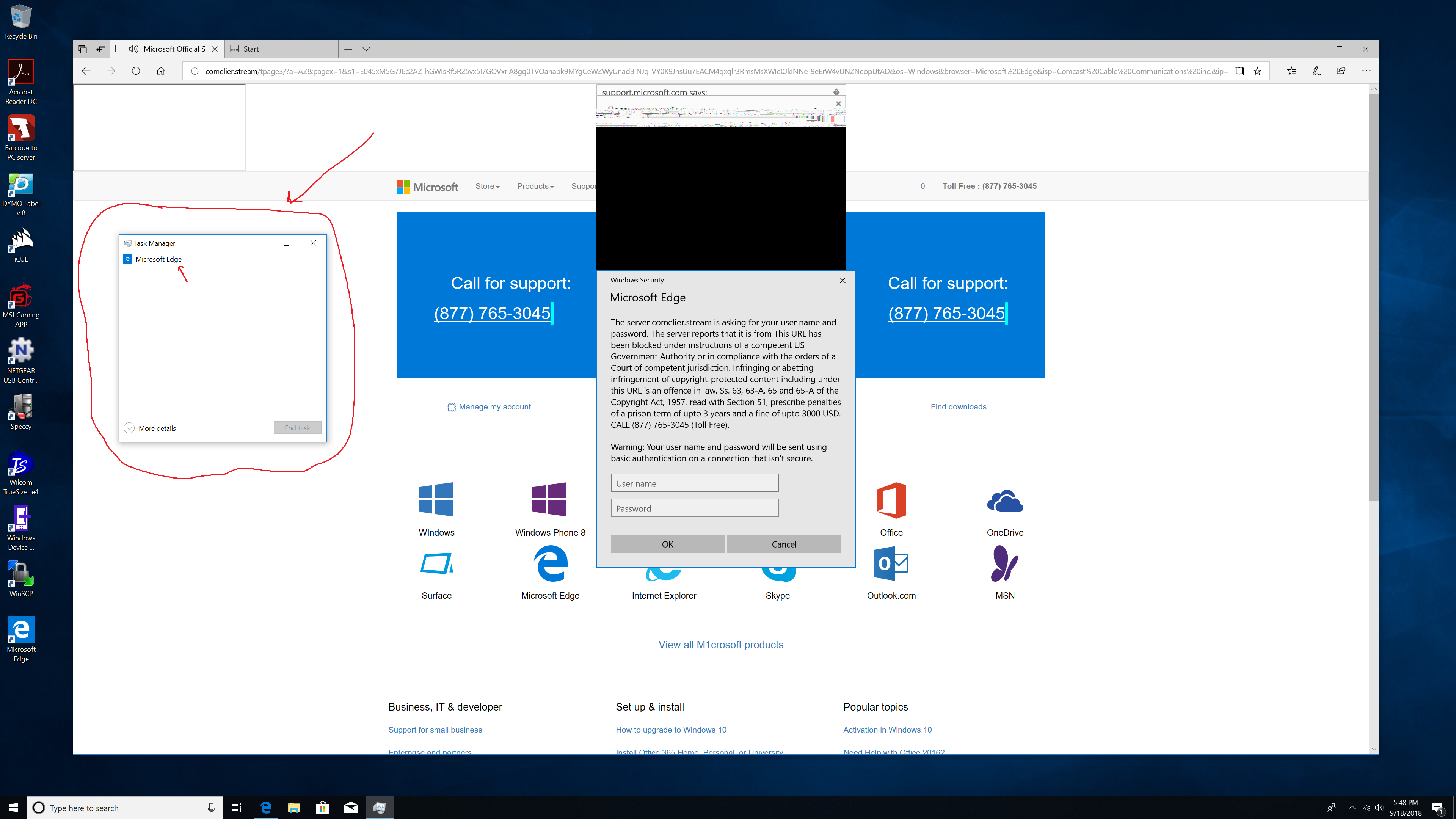 Fake Microsoft Support and Other Scams - CompuNinjas